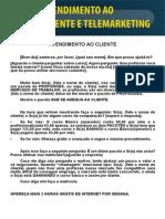 Atendimento Ao Cliente e Telemarketing