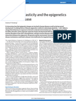 Phenotypic plasticity and the epigenetics of human disease