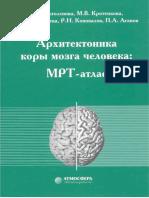 Arkhitektonika Kory Mozga Cheloveka MRT-Atlas