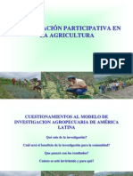 Invetigacion Participativa Esat 2014