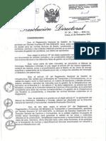 RD 20-2011-DGCF Aprueba Manual H H y Drenaje