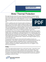 Motor Thermal Protection en-US
