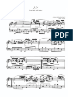 BACH AIR SUITE IN D PIANO $3.99