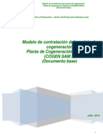 Modelo de Contratacion COGEN SAM II . Doc. Base Rev.07.08.14