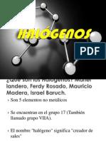halogenos bioquimica