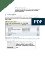 Configuration of FSCM Dispute Management