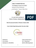 Human Resource Management in NTPC