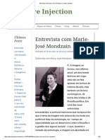 Entrevista Com Marie-José Mondzain _ Culture Injection