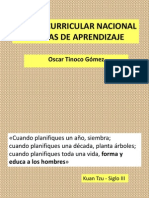 4 Dcn y Rutas de Aprendizaje - Oscar Tinoco Gómez
