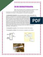 Clases de Cromatografia
