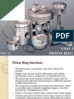 Auto Material Piston Rings