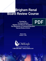The Brigham Renal Board Review Course