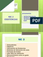 NIC 2 Existencias - CONTA