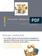 Ppt Persuasion Enfoque Tradicional