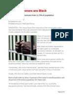 Half of Prisoners Are Black
