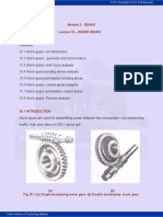 Worm Gear Calculation