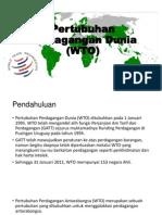 Pertubuhan Perdagangan Dunia (WTO)