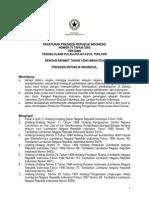 Peraturan Presiden Nomor 78 Tahun 2005 tentang Pengelolaan Pulau-Pulau Kecil Terluar