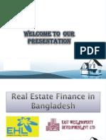 Real Estate Finance in BD