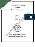 It2357 Lab Manual
