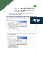 Etapas Para a Configuração Do Modem Modelo ZXDSL 831e 831C
