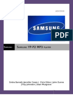 Samsung P2 Music Player