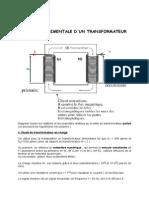 Etude Experimentale d Un Transfo 2007-2