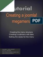 Tutorial Creating a Joomla Megamenu_en