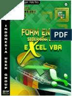 E-Book VBA Excel Dasar - Membuat Form Entri Sederhana