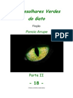 Cap. 18 - OS DESOLHARES VERDES DO GATO, por Pôncio Arrupe
