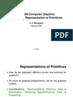 ComputerGraphics_RepresentationOfPrimitives