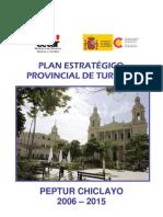 Plan Estrategico Provincial Turismo Chiclayo 2006 - 2015