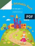 Princess Printable Pack 2014