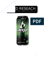 Energy drink business plan