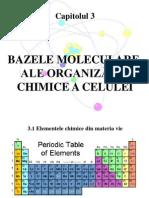 Bazele Moleculare Ale Organizarii Celulare