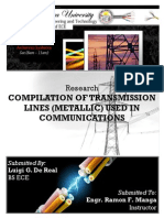 Transmission lines - Research