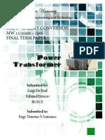 Energy Conversion Final Term Paper
