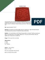 Gobble Cloth Knitting pattern