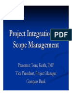 2004 05 Project Integration and Scope Management