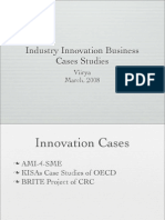 Innovation Business Cases