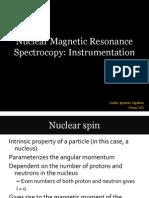 Chem 125 NMR Spectroscopy Instrumentation