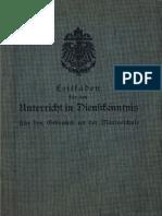 Leitfaden für den Unterricht in Dienstkenntnis (1914)