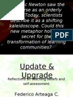 Reflctive teaching - Update & Upgrade