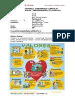 Planificación Anual de Desarrollo Curricula Segunda Seccion