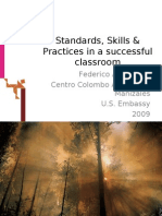 Standards, Skills & Practices in a successful classroom