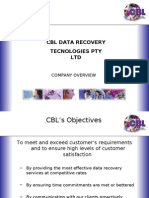 CBL Australia - 100% Data Recovery