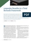 2013 Benefits Quarterly Employee Benefits Total Rewards Framework