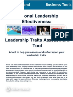 Leadership Traits Assessment Tool