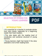 Selection of Stories for Young Learners