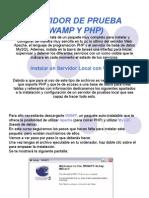INSTALACION DE WAMP SERVER Y PHP CON BASE DE DATOS